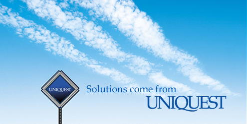SOLUTIONS COME FROM UNIQUEST